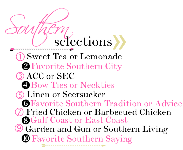 Southern Selections