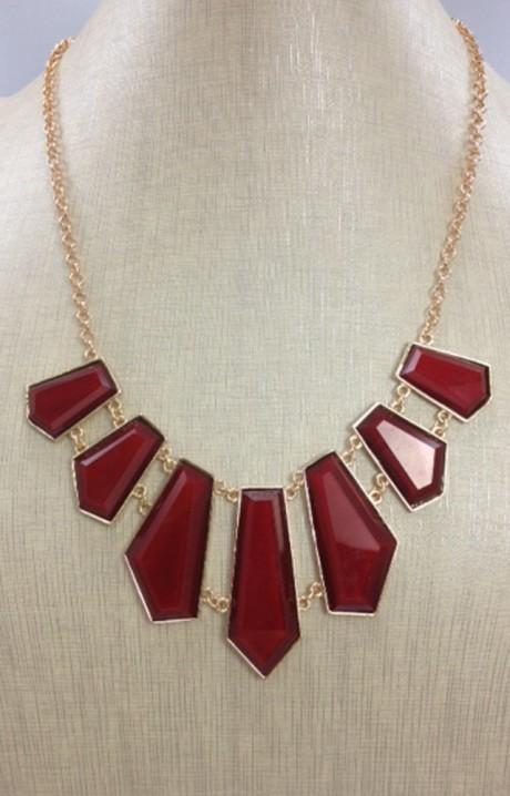 Garnet Jewels Necklace