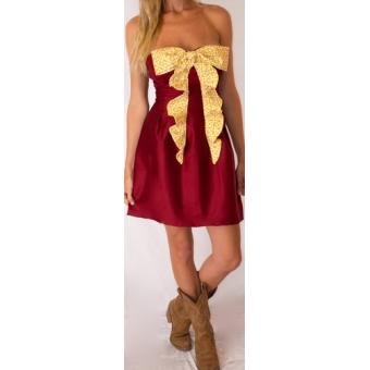 Garnet and Gold Gameday Dress