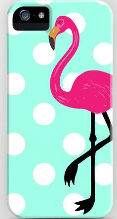 Dotty the Flamingo iPhone Case