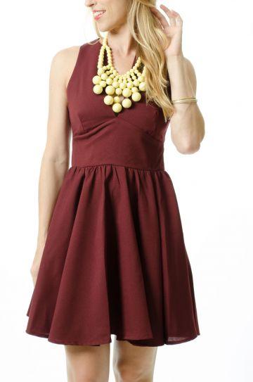 Garnet Game Day Dress
