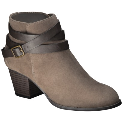Ankle Boot With LEather Wrap