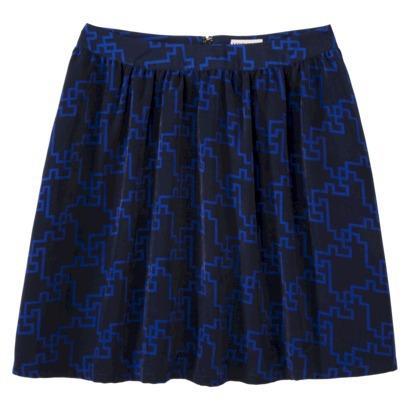 Blue and Black Merona Skirt