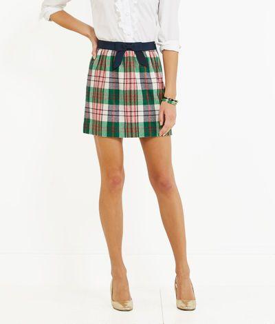 Vineyard Vines Tartan Skirt