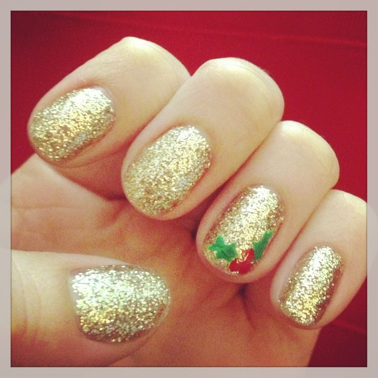 Gold with Holly