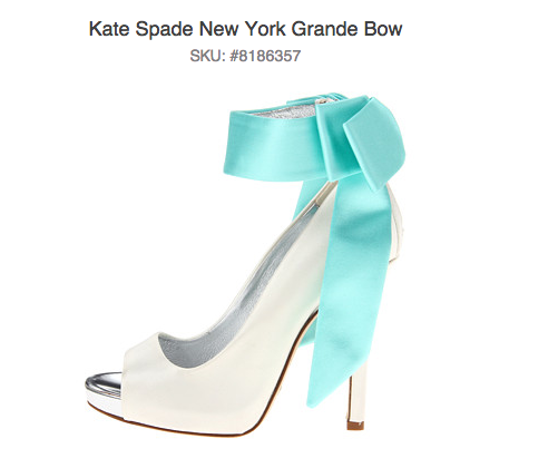 Kate Spade Grand Bow Shoes