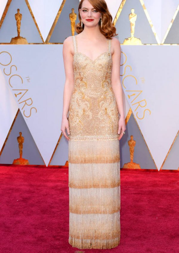 The Oscar for Best Dressed Goes To….